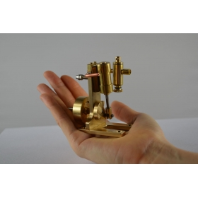 Simple Single Cylinder Double Acting Oscillating Steam Engine