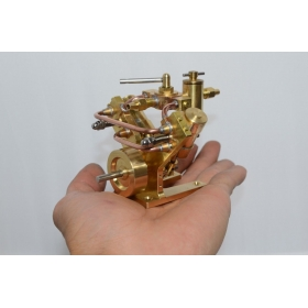 Model Twin Cylinder Steam Engine
