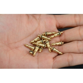 10 X M3 brass Oilers for Steam engine With closures *NEW* Live S