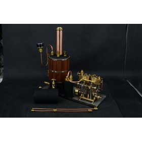 Twin Cylinder Marine Steam Engine With Vertical boiler+ Tank