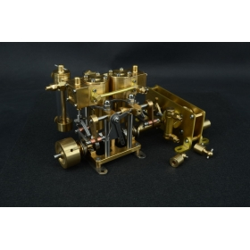 Two-cylinder Brass Decelerating Box wiht Water Pump