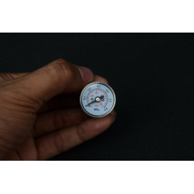 Axial pressure gauge (90PSI)For Steam