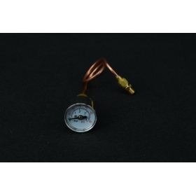 Axial pressure gauge (60PSI) With Pipeline 1 / 4-40TPI