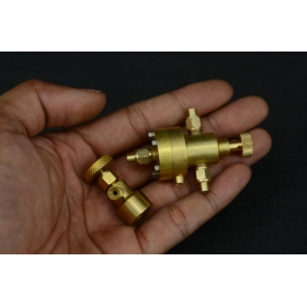P5B Automatic Boiler Pressure Regulator with P7GAS CAN VALVE