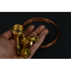P5+P7+M26D GAS BURNER with 3MM copper tube