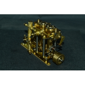 New Two-cylinder steam with Flyball Governor M29E