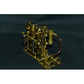 New Two-cylinder steam with M5 pump M29F