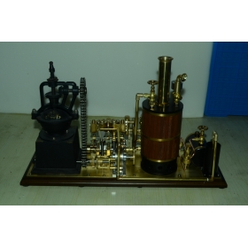 Steam coffee grinding factory model Live Steam