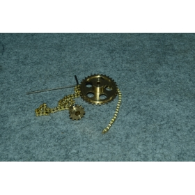 Metal Brass Sprocket Drive System for 4mm(MG1)